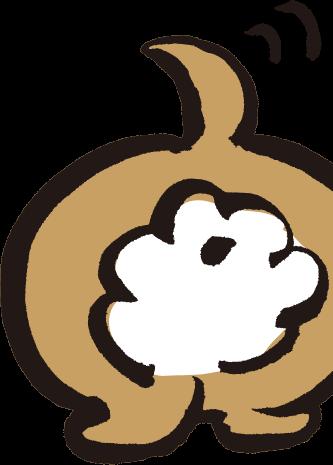 おしりロゴ